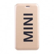 Mini Cooper Vinly Collection - Leder Book Tasche/ Hülle/ Case - Apple iPhone 6