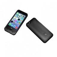 mobee induktives Akku Case iPhone 5/ 5S/ SE, 2.200mAh, schwarz