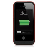 Mophie Juice Pack Plus f�r iPhone 4 /  4S, rot