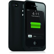 Mophie Juice Pack Plus f�r iPhone 4 /  4S, schwarz