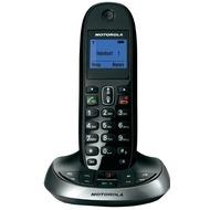 Motorola C2011 DECT Telefon mit AB, schwarz