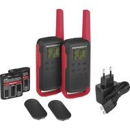 Motorola Funkgerät PMR Talkabout T62, rot