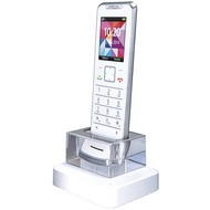 Motorola IT.6.1HW Design-DECT Telefon zweites Handset ohne AB, weiss