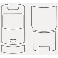 Motorola Phone Tattoos 3er Pack (bedruckbare Aufkleber) für RAZR V3