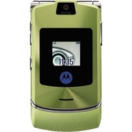 Motorola RAZR V3i, Chrome Green Edition