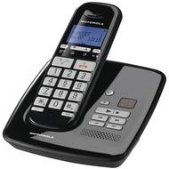 Motorola S3011 DECT Großtastentelefon mit AB, schwarz