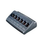 Motorola Schnellader für GP340 6-fach mit Netzteil 230V