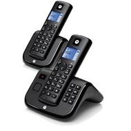 Motorola T212B Duo Set mit AB, black