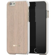 Mozo iPhone 6 Plus/ 6s Plus Back Cover, helle Eiche/  gold