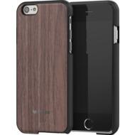 Mozo iPhone 6 Plus/ 6s Plus Back Cover - schwarze Wallnuss