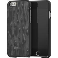 Mozo iPhone 6 Plus/ 6s Plus Back Cover, schwarzes Naturholz