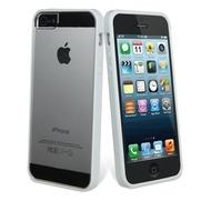 muvit Bimat, iPhone 5 Bumper, Wei� Transparent