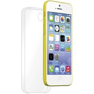 muvit Clear Back Crystal Case, iPhone 5C Hülle, Transparent