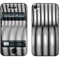 muvit Customization Kit für iPhone 4, Metal Rings