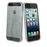 muvit miniGEL Speedlight, iPhone 5 Hülle, Weiß