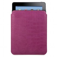 muvit Pocket Slim Classic, für iPad 4, 3 & 2, Croco Lila