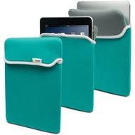 muvit Reversible Neoprene Case, für iPad 4/ 3/ 2/ 1, Türkis/ Grau