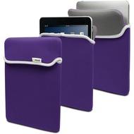 muvit Reversible Neoprene Case, für iPad 4/ 3/ 2/ 1, Violett/ Grau