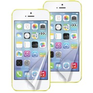 muvit Screen Guard für iPhone 5C, 2er Pack Matt+Glanz