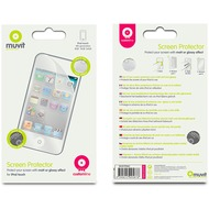 muvit Screen Protector für iPod touch 4G, 2er Pack Matt+Glanz