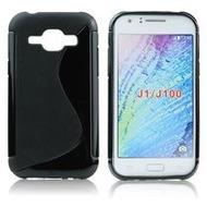my-eXtra Back Case S für Samsung Galaxy J1  - schwarz