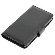 my-eXtra Bookstyle Tasche für Galaxy S7 Edge, schwarz