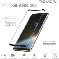 nevox NEVOGLASS 3D curved glass ohne Easy App, Samsung Galaxy S9, schwarz