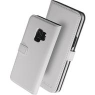 nevox ORDO Bookcase, Samsung Galaxy S9, weiß-grau