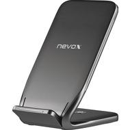 nevox Wireless Fast Charger Stand - induktive Ladestation, 10 Watt, schwarz