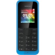 Nokia 105 Dual-SIM, cyan
