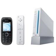 Nokia 1616, schwarz inkl. Nintendo Wii Sports Paket