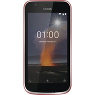 Nokia 1, Dual-SIM, warm red