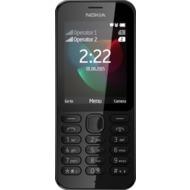 Nokia 222 Dual-SIM, black
