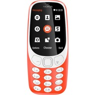 Nokia 3310 Dual-SIM (2017) - warmred