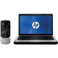 Nokia 6303i classic, steel + Hewlett-Packard Notebook HP 630 B950