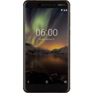 Nokia 6.1, Dual SIM, Black Copper mit Vodafone Red L +10 Vertrag