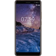 Nokia 7 Plus, Dual SIM, Black Copper mit Vodafone Red L Sim Only Vertrag