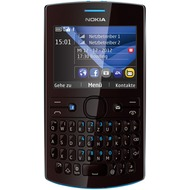 Nokia Asha 205, cyan-dark rose