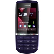 Nokia Asha 300, dark blue