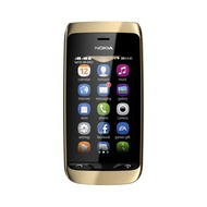 Nokia Asha 308, golden light