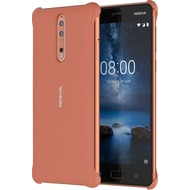 Nokia CC-801 - Soft Touch Case - Nokia 8 - copper