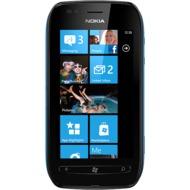 Nokia Lumia 710, schwarz-cyan