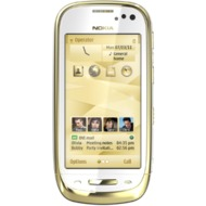 Nokia Oro, Gold White