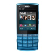 Nokia X3-02i Touch and Type, petrol-blau