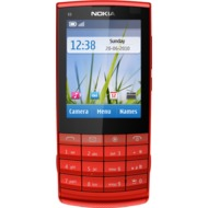 Nokia X3-02i Touch and Type, rot