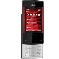 Nokia X3, schwarz-rot mit Vodafone Branding