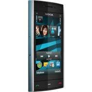 Nokia X6 8GB, azur-blau