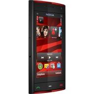 Nokia X6 16GB, schwarz-rot