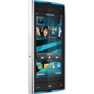 Nokia X6 16GB, weiß-blau