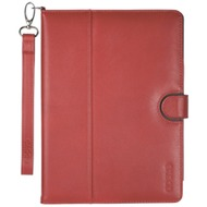 Odoyo Genuine Leather Case for iPad mini 2/ 3 rot